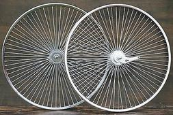 "72Spoke 26"" Cruiser Bike WHEELS Sram 2Speed Hub Vintage Schw"