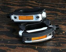 """9/16"""" Classic Cruiser Bike FatBow PEDALS Vintage Dyno Bicycl"""