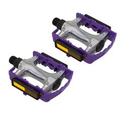 "940 Alloy Pedals 9/16"" Purple Bicycle Bike Road MTB Cruiser"