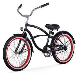 Firmstrong Urban Boy Single Speed Beach Cruiser Bicycle, 20-