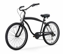 NEW - sixthreezero Men's In The Barrel 26-Inch Beach Cruiser