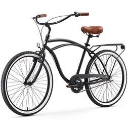 sixthreezero Around The Block Men's 3-Speed Cruiser Bicycle,