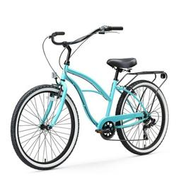 Sixthreezero Around the Block Women's Cruiser Bike with Rear