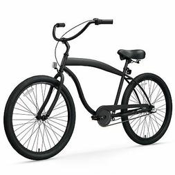 sixthreezero Men's In The Barrel 3-Speed Beach Cruiser Bicyc