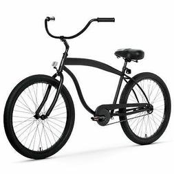 Men's In The Barrel Cruiser, Matte Black