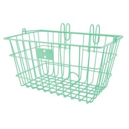 Sunlite Lift-Off Front Bike Basket 14.5x8.5x7 Green