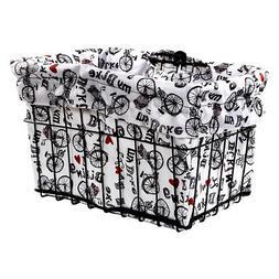 Cruiser Candy Basket Liner I Love My Bike