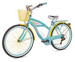 "BCA 26"" Women's, Margaritaville Multi-Speed Cruiser Bike, Te"