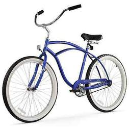 Men's Beach Bike - Firmstrong Urban, Single Speed - Matte Bl