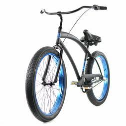 Beach Cruiser 3 speed Bicycle Cobra Classic Men Bike w 26 x3