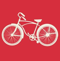 BEACH CRUISER T-shirt bike vintage summer vacation unisex la