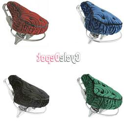 Beach Cruiser Velour Seat Lowrider Bike Seat Chopper Bike 4