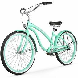 Firmstrong Bella 3 Speed, Mint Green - Women's 26 Beach Crui