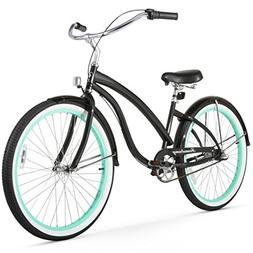 Firmstrong Bella Fashionista 3-Speed Beach Cruiser Bicycle,