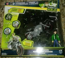 "Bandai BEN 10 Ultimate Alien ""BEN'S MOTORCYCLE"" Bike Cruiser"