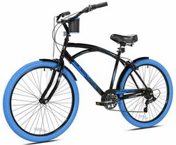 Best Selling Mens Bike 26 Bayside Kent Cruiser Bicycle Comfo