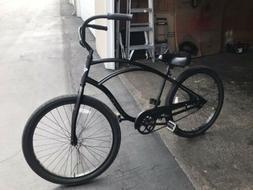 "Electra Bicycle Co. Beach 26"" Cruiser 1 Matte Black New"