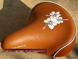 bicycle seat saddle cruiser comfort city electric