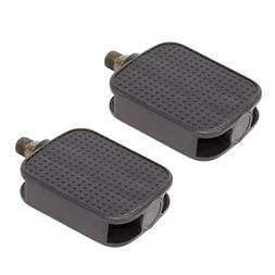 bicycle square platform pedals black