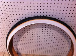 """Bicycle Tire 24"""" x 2.125 Yellow-Line Cruiser Lowrider Bikes"""