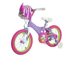 Trolls Girls Bike Purple/Pink/White 16""