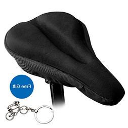 Yopoon Bike Seat Cover, Soft Gel Foam Padded Bicycle Saddle