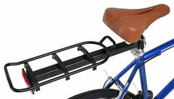 Vilano Bike Seat Post Mounted Rear Rack Commuter Carrier, fi