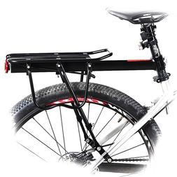 Black <font><b>Bike</b></font> Bicycle Quick Release Luggage
