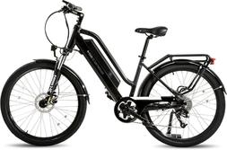 Black M/L Frame Surface 604 Rook Electric Cruiser Bike eBike