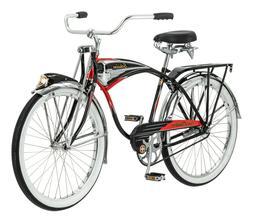 black phantom cruiser bike single speed 26