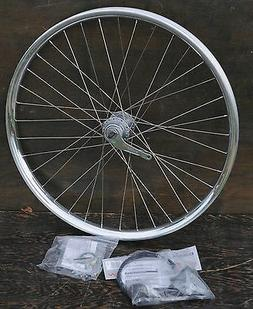 "Velocity Blunt Cruiser Bike Shimano Nexus 3 Speed Hub 26"" WH"