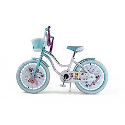 BMX Girl Bike 20-Inch Steel Frame Coast Brake Full Chain Gua