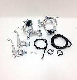 Sunlite Brakeset, Cruiser/MX Set, 73-91mm, Silver