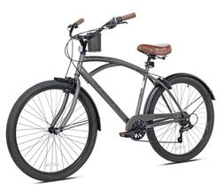 "BRAND NEW Kent 26"" Bayside Men's Cruiser Bike - Satin Cocoa"