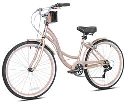 "🌸 Kent 26"" Bayside Women's Cruiser Bike -Rose Gold 🌸 B"