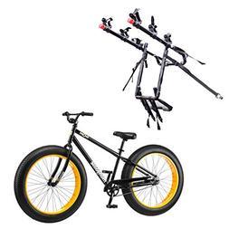 "Mongoose 26"" Brutus Mens Alloy All Terrain Mountain Bike & 3"