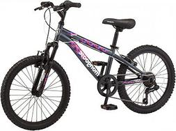 FEMALE MOUNTAIN BIKE 7 SPEED MONGOOSE YOUNG GIRLS BICYCLE 20