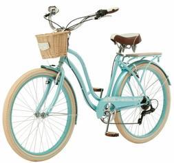 Schwinn Cabo Cruiser Bike, 26-inch wheels, vintage-style wom