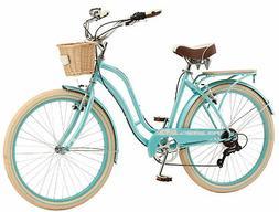 "Schwinn Cabo Ladies Cruiser Bike 26"" Wheels Vintage-Style Wo"