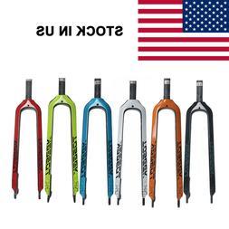carbon fiber mountain bike fork mtb straight