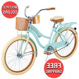 Casual Rod Cruiser Bicycle Comfort Seat Female Bike Classic