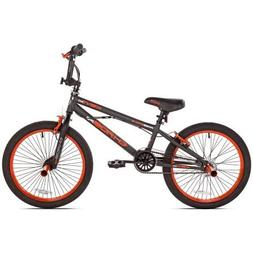 "KENT 20"" Chaos Boys' Bike, 62082, Matte Gray/Orange"