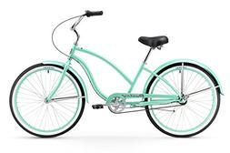 Women's Chief Beach Cruiser Bike, Mint Green