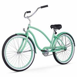 Firmstrong Chief Lady Single Speed Beach Cruiser Bicycle, 26
