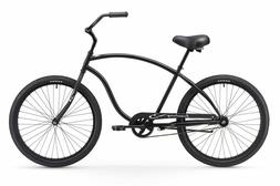 Firmstrong Chief Man Single Speed Beach Cruiser Bicycle, 26-