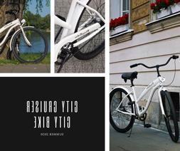 City Bicycle 26' Beach Cruiser Shimano Nexus 3 speed gear Mo