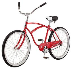 "Schwinn Men's Classic 1 26"" Wheel Cruiser Bicycle, Red, 14""/"