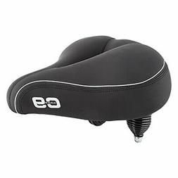 "Cloud-9 Cruiser Select Saddle, 10.5"" x 10.75"", Black Soft To"