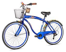 Margaritaville Coast Is Clear Men's Beach Cruiser Bike, 26-I