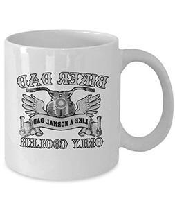 Coffee Mugs Motorcycle - Biker Dad Like a Normal - Bike Love